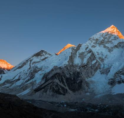 Everest Base Camp trek alone.