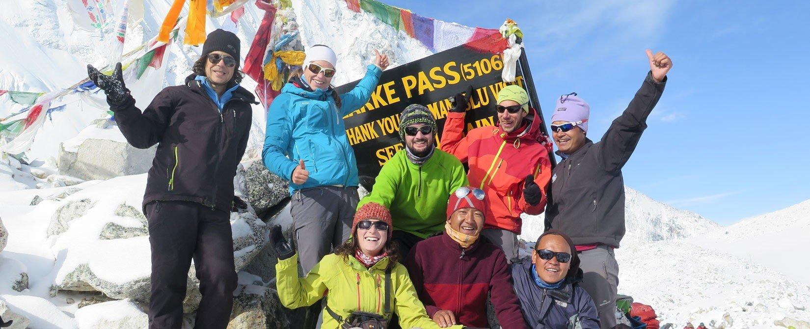 Larke la pass Trekking